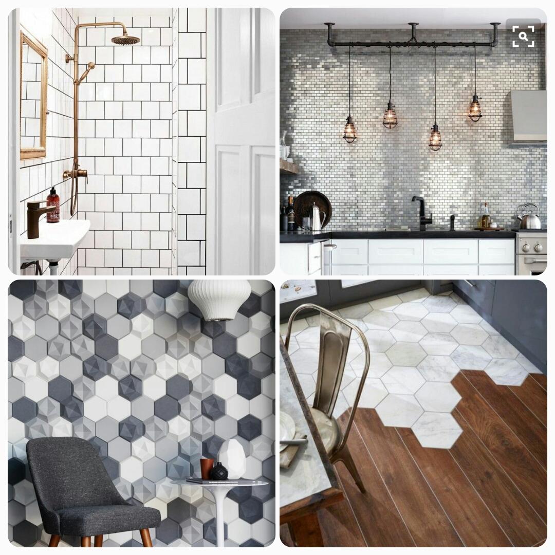 Top 6 tile trends of 2016 design with rev for 2016 bathroom tile trends